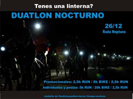 Duatlon nocturno 2 2014
