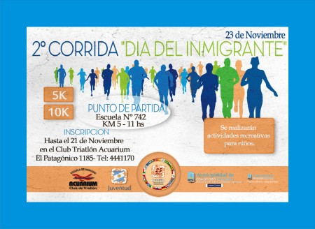 corrida del inmigrante