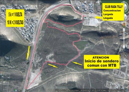 circuito mega RUN