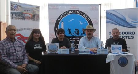 presentacion Aventura Ruta Azul